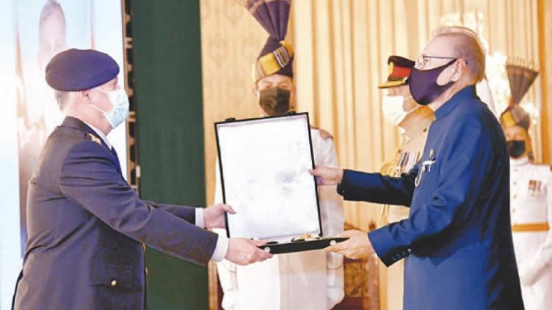 India using Afghan soil for terrorism in Pakistan: Alvi