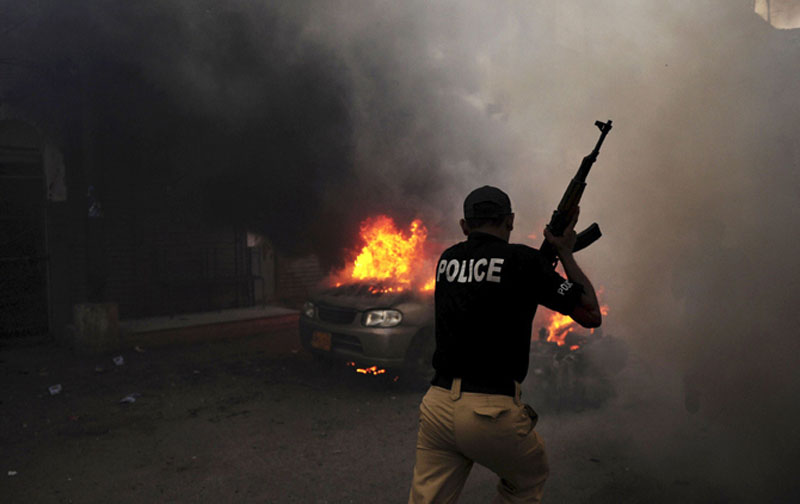 Karachi in 2014 HRCP