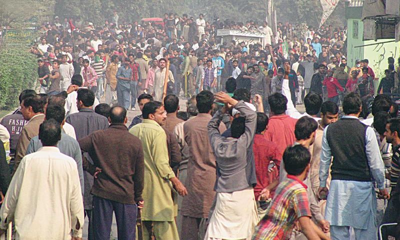 PTI enforce shutdown