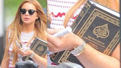 American Actress Lindsay Lohan Turns to Islam