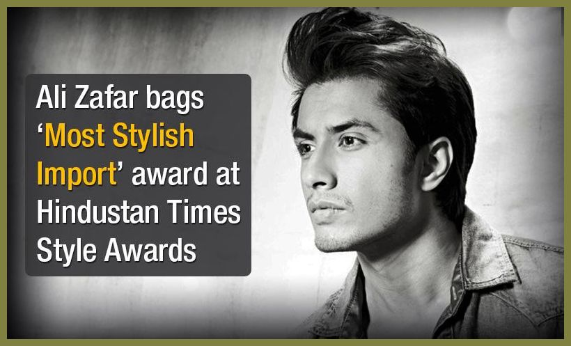Ali Zafar wins Stylish Award