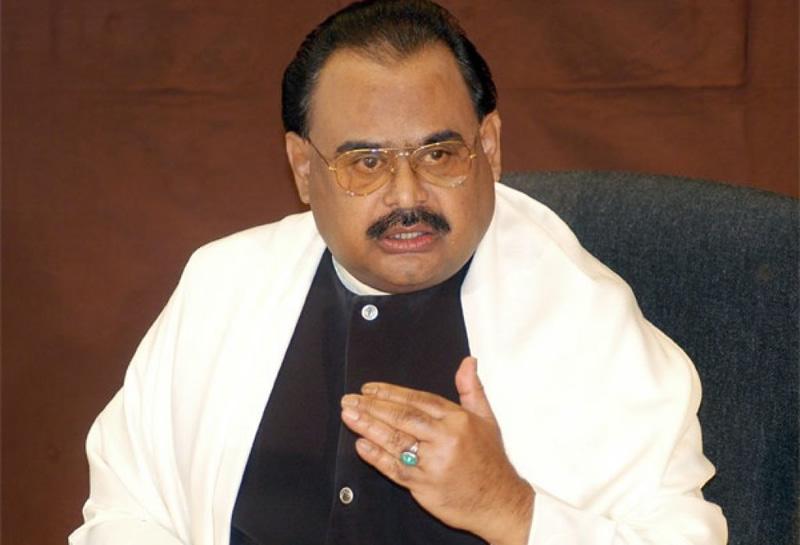 Muttahida Qaumi Movement (MQM) chief Altaf Hussain