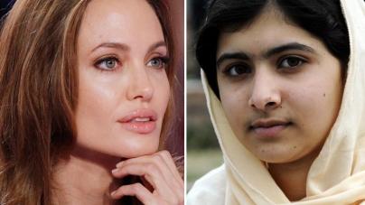 Angelina Jolie Beats Malala Yousafzai