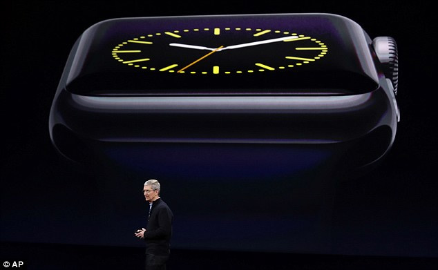 Apple's Cook Shows Off 'Revolutionary' watch