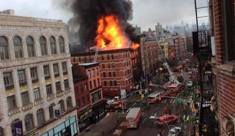 Gas Blast Blamed