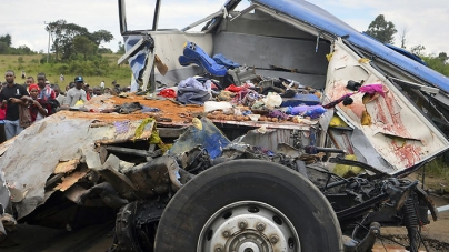 At Least 40 Killed in Bus, Truck Collision in Tanzania