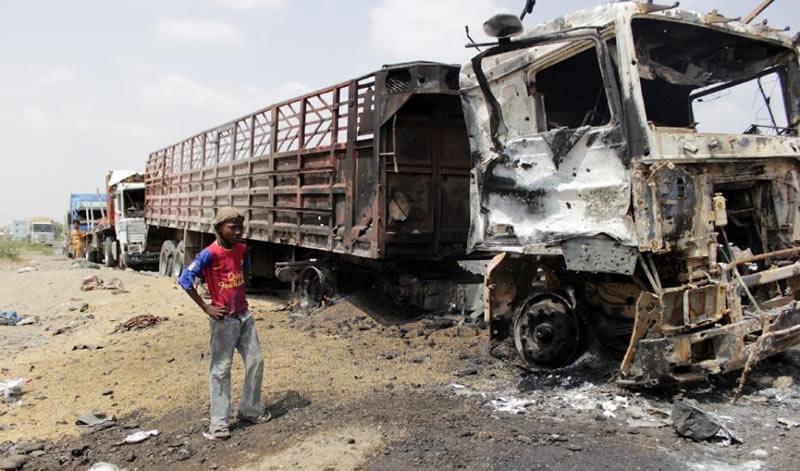 clashes in Yemen