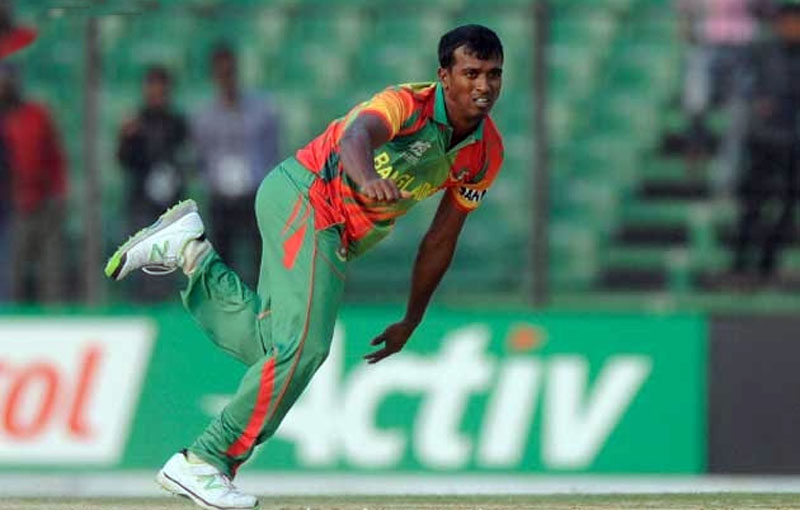 Cricketer Rubel Hossain