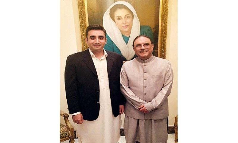 Bilawal meets Zardari