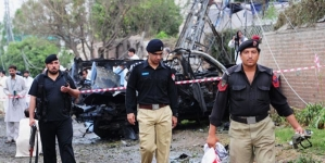 Blast in Peshawar Kills two Security Men, Wounds As Many