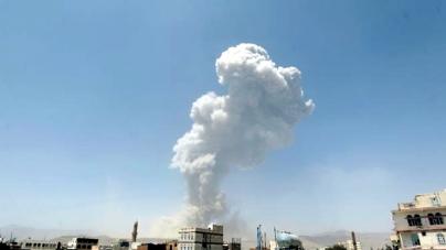 Blasts Shake Yemeni Capital As Warplanes Hit Missile Base