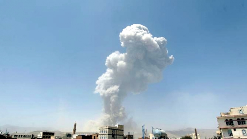 Blasts Shake Yemeni Capital As Warplanes Hit Missile Base