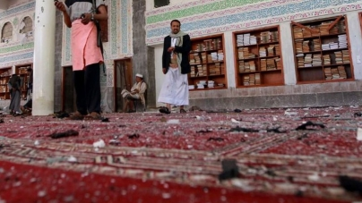 Bomb Blast In Mosque In Saudi Arabia