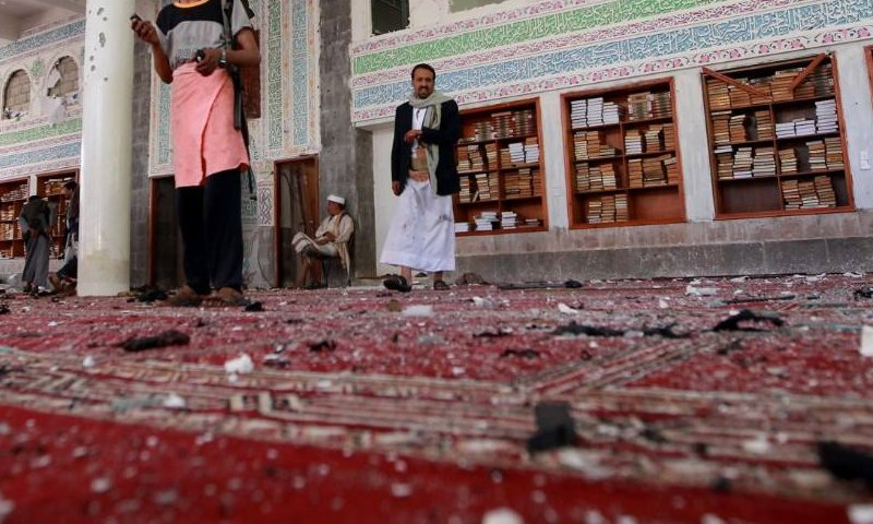 Yemen mosque attacks
