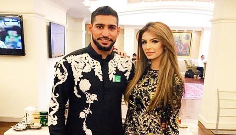 Boxer Amir Khan, wife Faryal Makhdoom