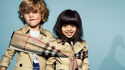 Pakistani Baby wins in Burberry's Latest ad Campaign