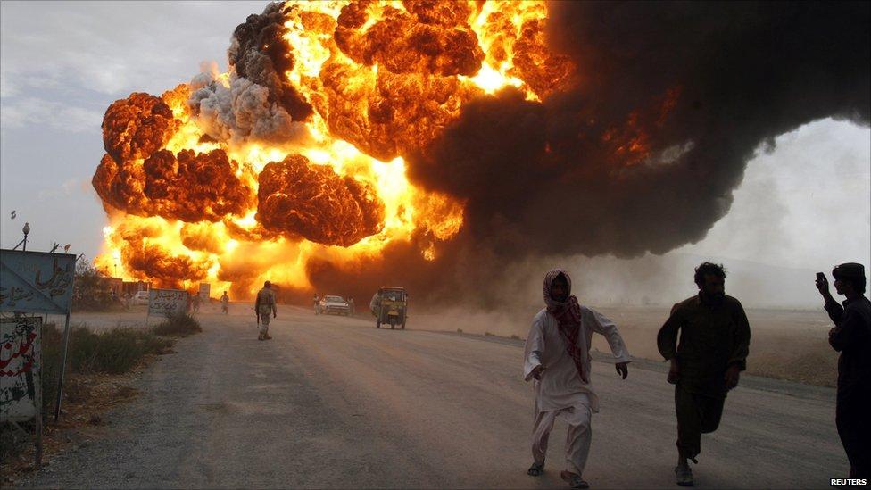 Burning in Balochistan