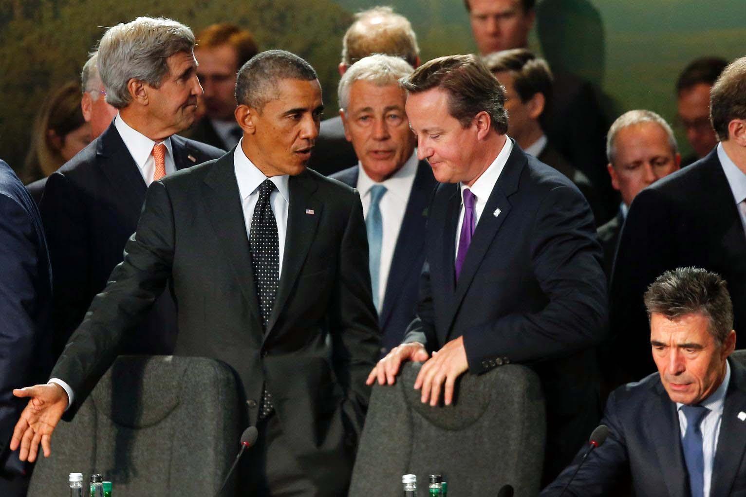 Cameron meets Obama