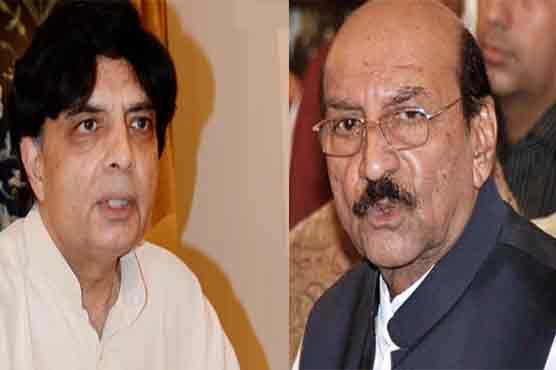 Ch Nisar Meets CM Sindh