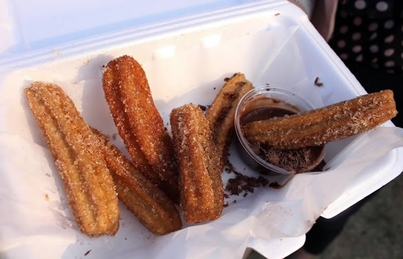 Churros and Choc