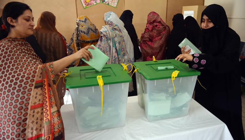 pakistan voting bags