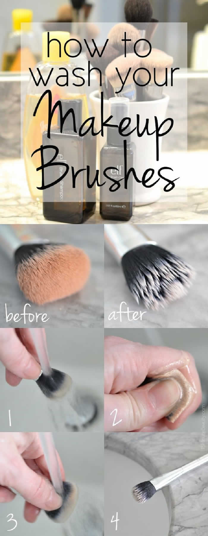 DIY Cleaning Makeup