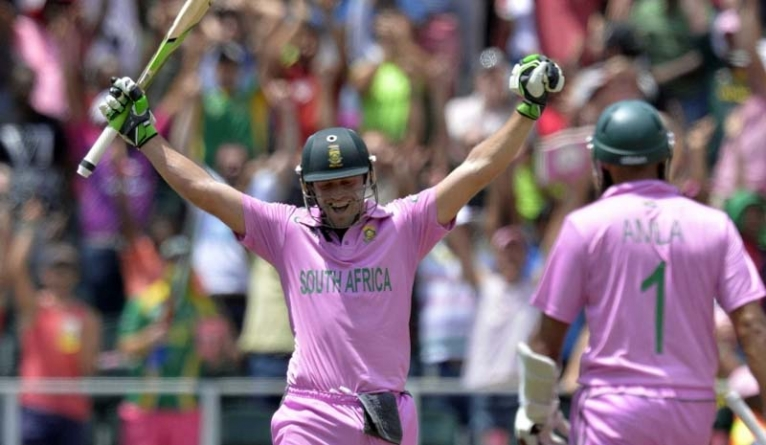Watch: AB De Villiers Blasts Fastest ODI Ton