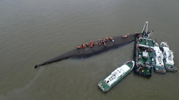 Death toll from Capsized