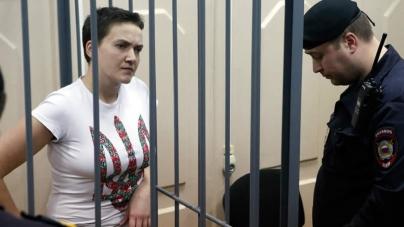 Do Not let Ukrainian Pilot Die, Writer Tells Putin