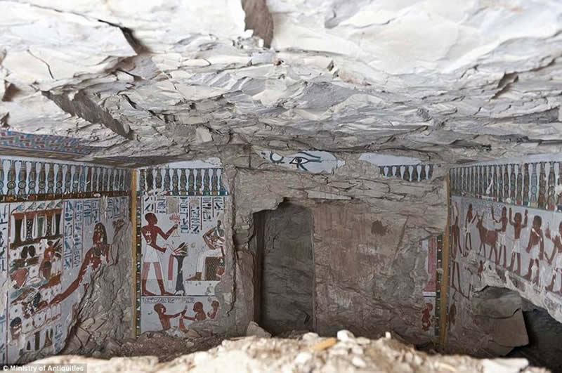 Egyptian tombs unseen images