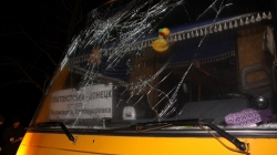 Rocket Strike in Ukraine kills 11 Bus Passengers