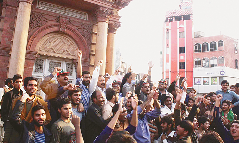 Faisalabad shutdown threat