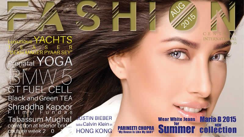 Fashion Central Magazine August
