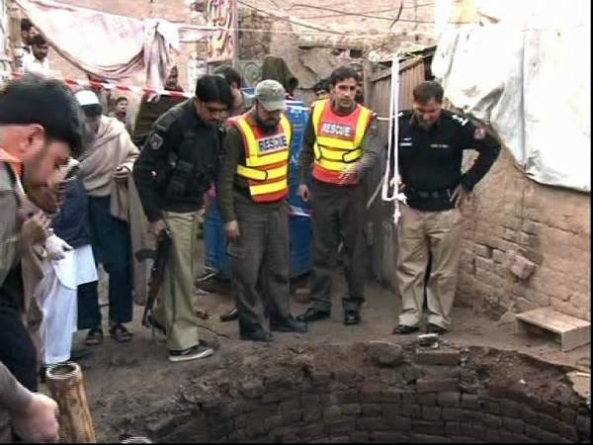 Five Peshawar Children Drown in the Well