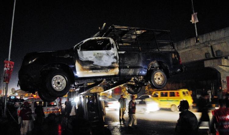 Five Policemen Injured in Peshawar Blast