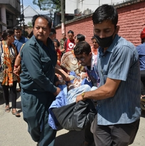 At Least 4 Killed As New Quake Hits Shattered Nepal