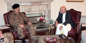 Gen Raheel Moves Kabul for Anti Terror Co-action