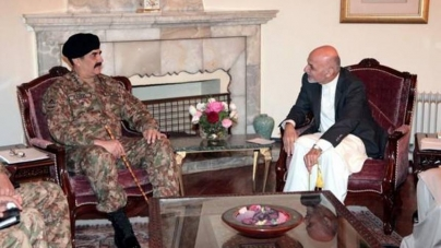 Gen Raheel Moves Kabul for Anti Terror Co-action