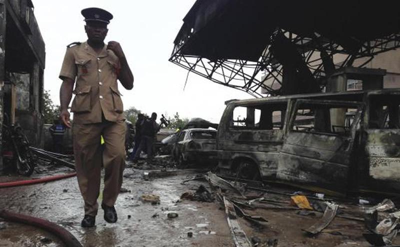 Ghana petrol station blast