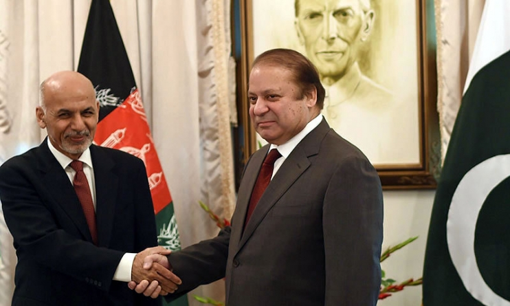 Ghani assures Sharif of enhanced security for Pakistani diplomats