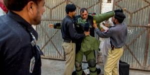 Girls' School Damaged in Karachi Bomb Blast