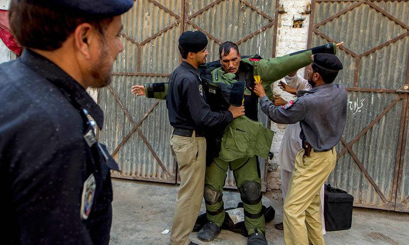 Karachi bomb blast