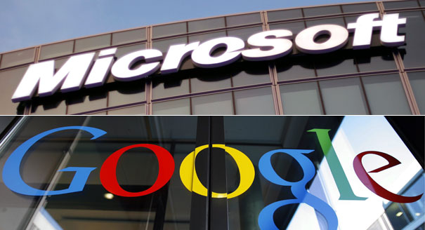 Microsoft, Google Stand Down in Patent Battles