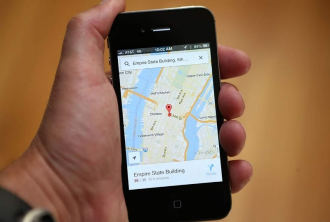 Google Lets Users Map Their Steps