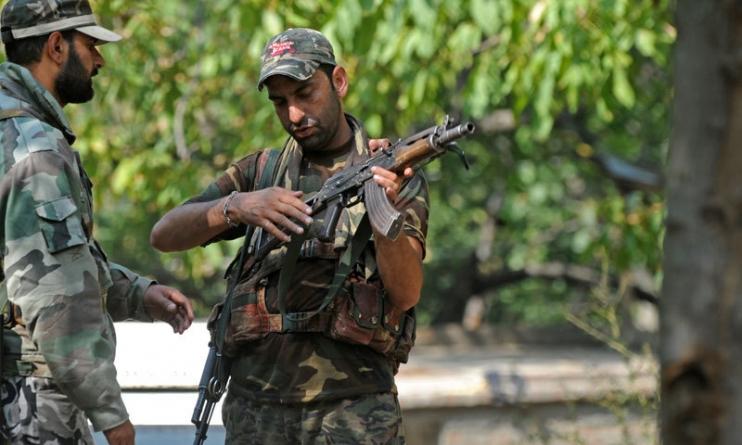 Gun Battle in Indian-Held Kashmir Kills Five Suspected Rebels: Police