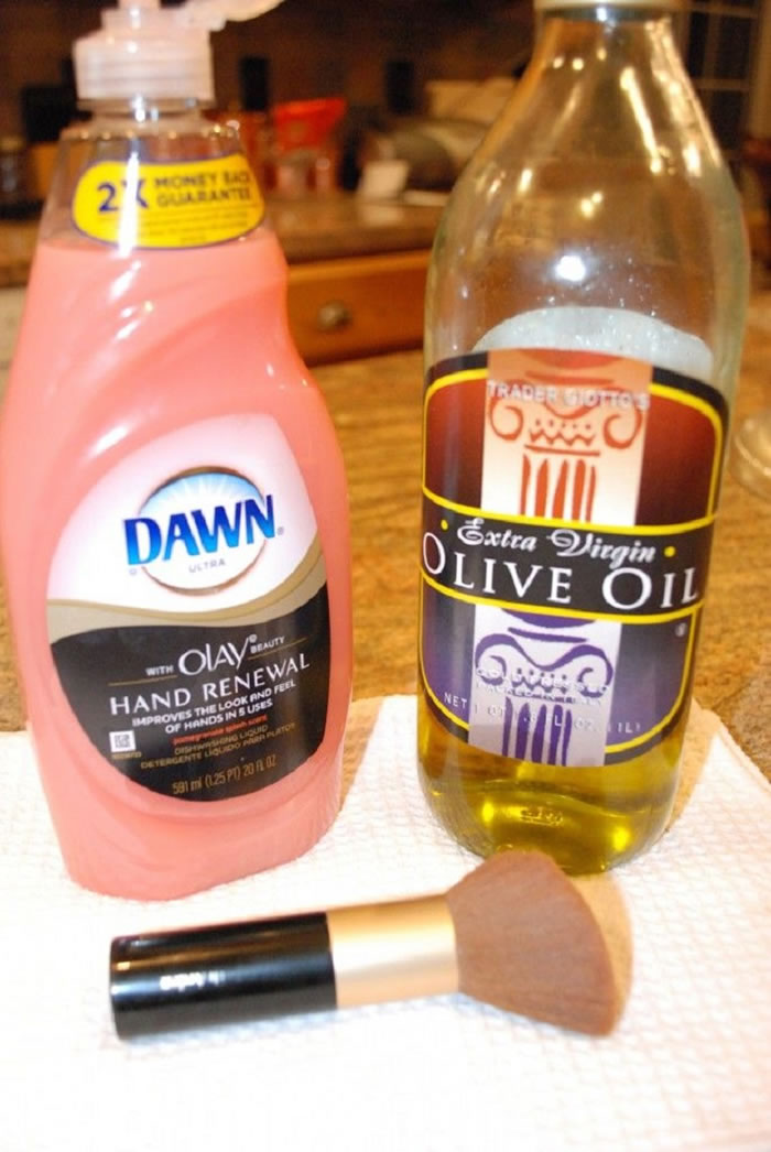 Hand Soap and Olive Oil