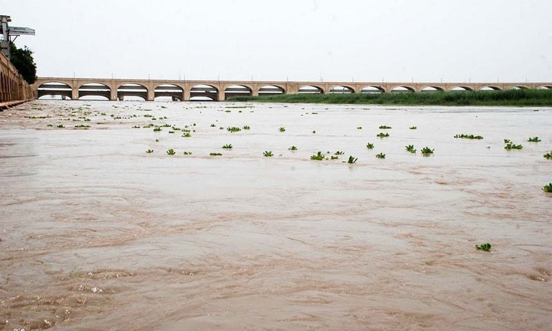 flood at Chashma
