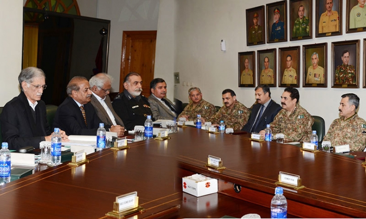 IDPs, Military Operation Discussed at KP Apex Committee Meeting