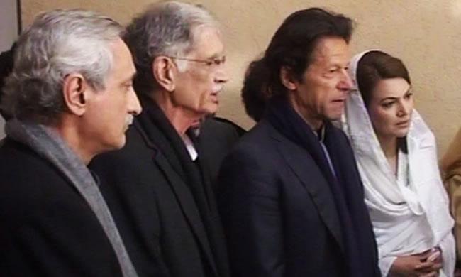 imran khan and reham khan peshawar