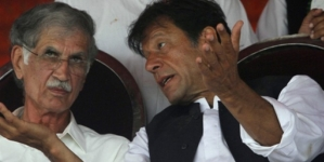 Imran Khan, Khattak Pursuing Conflicting Strategies